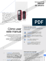 Samsung B2100 - Manual de Usuario
