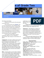 Mar 4 A View of Grade Two Newsletter