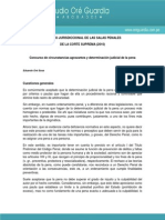 VI PLENO JURISDICCIONAL Concurso de Agravantes y Det Jud de La Pena[1]