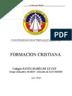 Contenidos Doctrinales Básicos de Formación Cristiana
