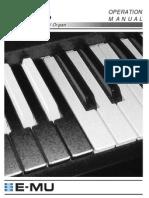 EMU B-3 Sound Module