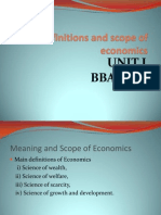 Indian Economy Lecture PPT Unit I