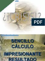 Cálculo de la crisis - Solocachondeo.Com