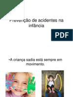 Prevenção de acidentes na infância