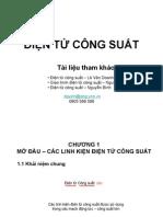 Bai giang Dien tu cong suat Phan 01
