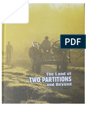 The Land of Two Partitions and Beyond | Partition Of India