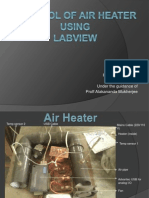 Control of Air Heater