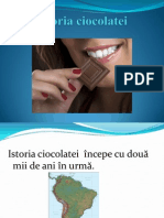 Ciocolata Istorie