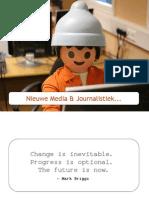 xios - journalistiek & nieuwe media - les 1 - inleiding