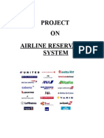 Airline Reservation System-Vb