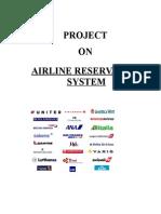 Airline Reservation System-Vb