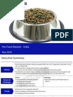 Petfoodmarketinindia2010 Sample 100528055916 Phpapp02