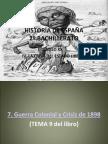 HISTORIA DE ESPAÑA TEMA 7