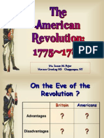 American Revolution and Critical Period Through Maps