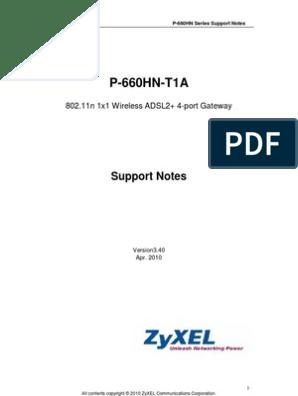 P-660HN-T1A_3 40   Firewall (Computing)   Denial Of Service Attack