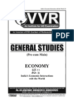 Vvr Indias Economic Interaction With the World Part 2