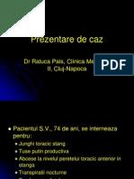 Prezentare de Caz Respirator