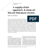 Green Supply-chain Management.a State-Ofthe-Art Literaturereview.2007.Srivastava.