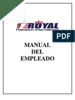 Manual del Empleado Royal Petroleum Int'l