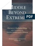 Middle From Extremes - Maitreya
