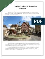 Dijon, paradisul culinar ce da lectii de economie