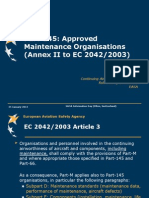 6 Part-145 approved maintenance organisation