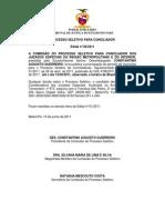 Edital Selecao de Conciliador Edital-01 e 02-2011
