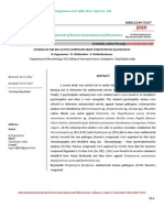 Studies on the Bio-Active Compound From Streptomyces Flavofuscus