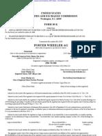 FOSTER WHEELER LTD 10-K (Annual Reports) 2009-02-24