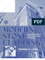 691.2 LEW Mod - Modern Stone Cladding. Design and Installation of Exterior Demiension Stone Systems - Lewis, Michael D.