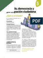 Estado Democracia y Participacion Ciudadana