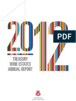 Treasury Wine Estates 2012 Annual Report