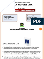 Project on study of vehicle loan financing process