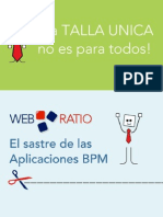WebRatio BPM Descripcion