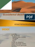 Ecosistemul Desertului