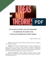 Convocatoria de artículos y ensayos. Cultura visual, Sociología y Moda