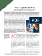 Treatment Acute Migrain
