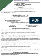 NATIONAL HEALTH INVESTORS INC 10-K (Annual Reports) 2009-02-24