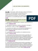 Constituição Federal - EDUCAÇÃO