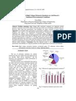 Degradation of High Voltage Polymeric Insulators in Arid Desert's