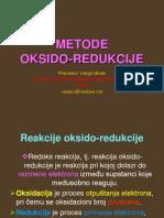 035 METODE OKSIDO-REDUKCIJE