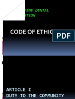 PDA Code of Ethics - FINAL