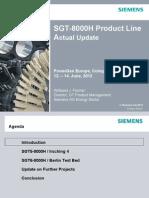 PowerGen Europe 2012 Cologne SGT-8000H Update Fischer.