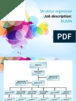 struktur  organisasi BUMN
