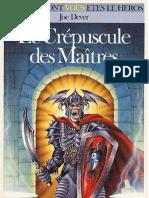 Loup Solitaire 12 - Le Crepuscule Des Maitres