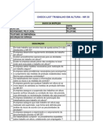 Check List Trabalho Em Altura - NR 35[1]