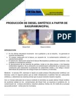 Procesamiento..Basura Municipal -2011