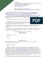 OMAI 647-2005 = N.M. Elaborare Plan Urgenta Accidente Subst. Periculoase