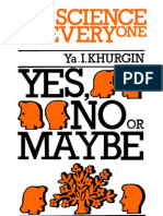 SFE Yes No or Maybe (on Statistics) MIR