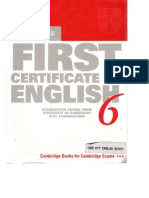 36690359 FCE 6 Past Papers Old Version W Key